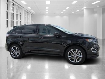2018 Shadow Black Ford Edge Sport AWD Automatic SUV Twin Turbo Premium Unleaded V-6 2.7 L/164 Engine