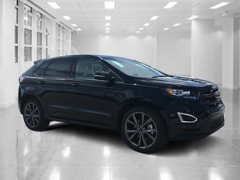 2018 Shadow Black Ford Edge Sport SUV 4 Door Twin Turbo Premium Unleaded V-6 2.7 L/164 Engine Automatic AWD
