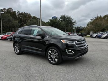 2015 Tuxedo Black Metallic Ford Edge Titanium Automatic FWD 4 Door