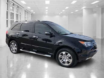 2007 Black Acura MDX 3.7L 4 Door Automatic SUV AWD
