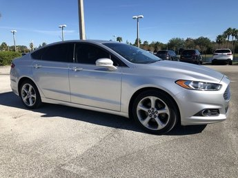 2016 Ingot Silver Ford Fusion SE Automatic FWD 4 Door Intercooled Turbo Regular Unleaded I-4 1.5 L/91 Engine