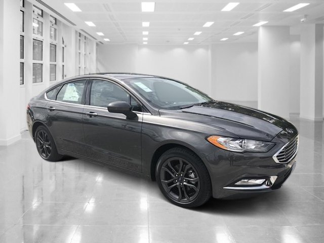 2018 Magnetic Metallic Ford Fusion SE Intercooled Turbo Regular Unleaded I-4 1.5 L/91 Engine Automatic 4 Door Sedan FWD