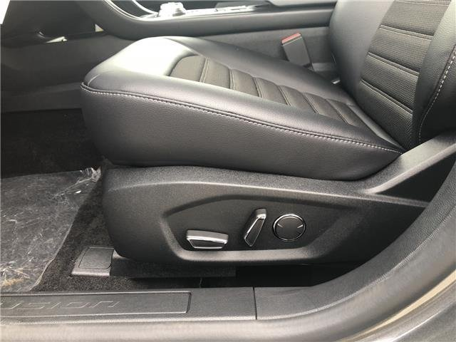 2018 Magnetic Metallic Ford Fusion SE 4 Door Sedan FWD