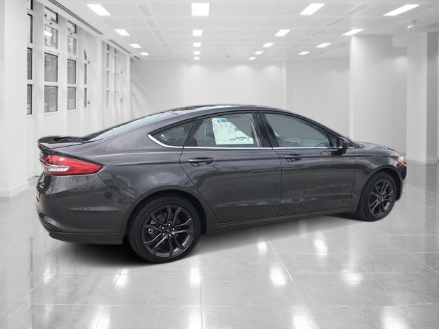 2018 Magnetic Metallic Ford Fusion SE Automatic Intercooled Turbo Regular Unleaded I-4 1.5 L/91 Engine FWD Sedan 4 Door