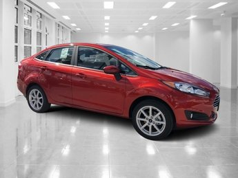 2019 Hot Pepper Red Metallic Tinted Clearcoat Ford Fiesta SE Regular Unleaded I-4 1.6 L/97 Engine Sedan Automatic FWD