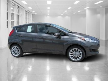 2018 Magnetic Metallic Ford Fiesta Titanium Manual Regular Unleaded I-4 1.6 L/97 Engine FWD Hatchback 4 Door