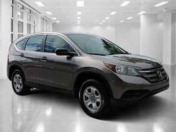 2013 Kona Coffee Metallic Honda CR-V LX Gas I4 2.4L/144 Engine FWD 4 Door