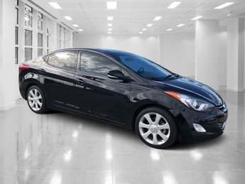 2013 Hyundai Elantra Limited Sedan Gas I4 1.8L/110 Engine Automatic 4 Door FWD