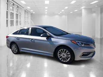 2015 Shale Gray Metallic Hyundai Sonata 2.4L Limited Automatic 4 Door FWD