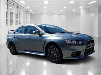 Exceptional 2015 Mercury Gray Mitsubishi Lancer Evolution Final Edition AWD Sedan  Manual Intercooled Turbo Premium Unleaded I