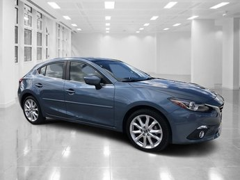 2016 Blue Reflex Mica Mazda Mazda3 s Grand Touring Hatchback FWD 4 Door