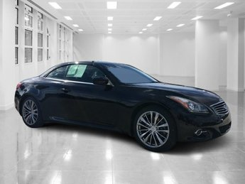 2013 Black Obsidian Infiniti G37 Convertible Base Convertible Automatic 2 Door Gas V6 3.7L/226 Engine RWD