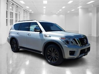 2017 Brilliant Silver Nissan Armada Platinum 4X4 SUV Regular Unleaded V-8 5.6 L/339 Engine