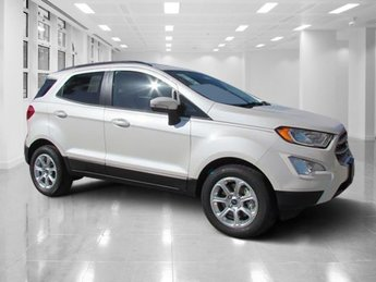 2018 White Platinum Clearcoat Metallic Ford EcoSport SE 4 Door SUV Intercooled Turbo Regular Unleaded I-3 1.0 L/61 Engine FWD Automatic