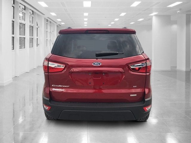 2018 Ruby Red Metallic Tinted Clearcoat Ford EcoSport SE SUV Automatic FWD 4 Door Intercooled Turbo Regular Unleaded I-3 1.0 L/61 Engine