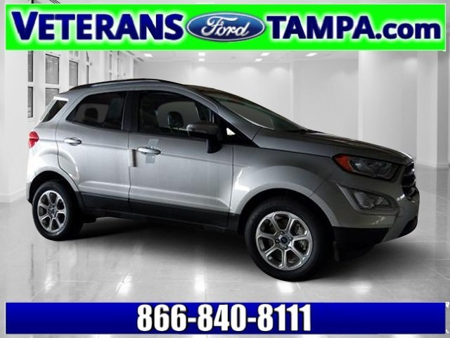 2018 Moondust Silver Metallic Ford EcoSport SE Intercooled Turbo Regular Unleaded I-3 1.0 L/61 Engine Automatic FWD SUV