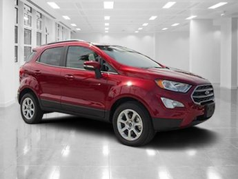 2018 Ruby Red Metallic Tinted Clearcoat Ford EcoSport SE 4 Door Automatic Intercooled Turbo Regular Unleaded I-3 1.0 L/61 Engine