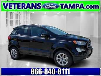 2018 Shadow Black Ford EcoSport SE FWD Intercooled Turbo Regular Unleaded I-3 1.0 L/61 Engine 4 Door Automatic SUV