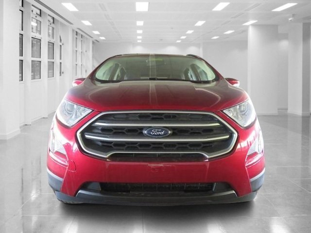 2018 Ruby Red Metallic Tinted Clearcoat Ford EcoSport SE Intercooled Turbo Regular Unleaded I-3 1.0 L/61 Engine SUV Automatic 4 Door