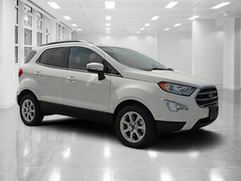 2018 Ford EcoSport SE Automatic SUV FWD Intercooled Turbo Regular Unleaded I-3 1.0 L/61 Engine 4 Door