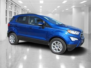 2018 Lightning Blue Metallic Ford EcoSport SE Intercooled Turbo Regular Unleaded I-3 1.0 L/61 Engine SUV Automatic