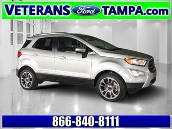 2018 Moondust Silver Metallic Ford EcoSport Titanium Automatic FWD 4 Door Intercooled Turbo Regular Unleaded I-3 1.0 L/61 Engine SUV