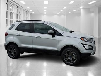 2018 Moondust Silver Metallic Ford EcoSport SES Regular Unleaded I-4 2.0 L/122 Engine SUV Automatic AWD 4 Door