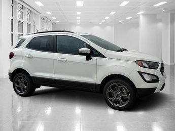 2018 Diamond White Ford EcoSport SES AWD Automatic SUV 4 Door