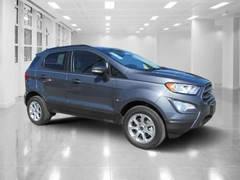 2018 Smoke Metallic Ford EcoSport SE I4 Engine 4 Door SUV Automatic 4X4