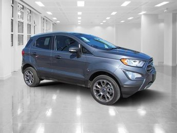 2018 Smoke Metallic Ford EcoSport Titanium AWD Regular Unleaded I-4 2.0 L/122 Engine Automatic SUV 4 Door