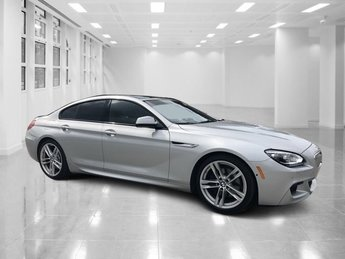 2015 Silver BMW 6 Series 650i Twin Turbo Premium Unleaded V-8 4.4 L/268 Engine Sedan 4 Door RWD