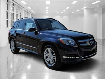 2015 Lunar Blue Metallic Mercedes-Benz GLK-Class GLK 350 Automatic Premium Unleaded V-6 3.5 L/213 Engine 4 Door RWD SUV
