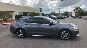 2018 Modern Steel Acura TLX V6 w/Technology Pkg Sedan 4 Door FWD Automatic 3.5L V6 SOHC VTEC 24V Engine