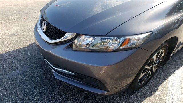 2015 Honda Civic EX Automatic (CVT) 4 Door Sedan