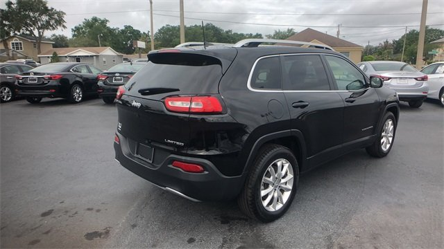 2017 Jeep Cherokee Limited SUV 4X4 2.4L 4-Cylinder SMPI SOHC Engine