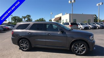 2017 Gray Dodge Durango GT SUV RWD 4 Door 3.6L V6 24V VVT Engine Automatic