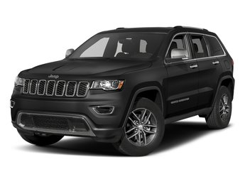 2017 Diamond Black Crystal Pearlcoat Jeep Grand Cherokee Limited Automatic RWD 3.6L V6 24V VVT Engine 4 Door