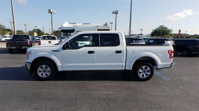 2018 White Ford F-150 XLT 4 Door RWD 5.0L V8 Engine Automatic