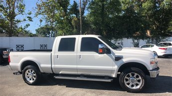 2010 Oxford White Ford Super Duty F-250 SRW XLT 4 Door Power Stroke 6.4L V8 DI 32V OHV Twin Turbo Diesel Engine Automatic 4X4 Truck