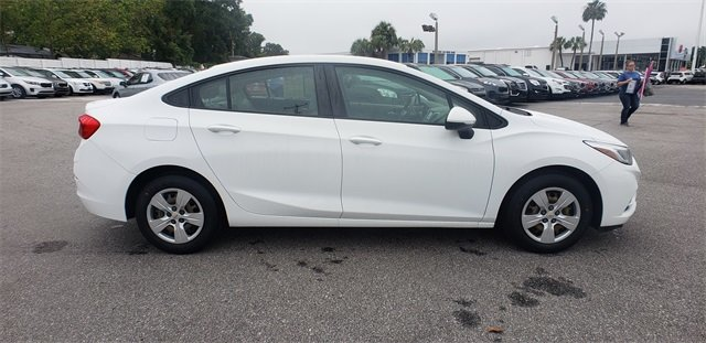 2016 Summit White Chevrolet Cruze LS 4 Door FWD Sedan