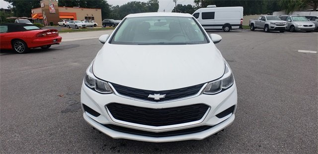 2016 Summit White Chevrolet Cruze LS Sedan 1.4L 4-Cylinder Turbo DOHC CVVT Engine 4 Door Manual