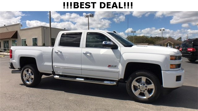 2016 Summit White Chevrolet Silverado 2500HD LTZ Automatic 4X4 Duramax 6.6L V8 Turbodiesel Engine