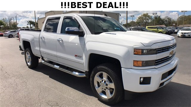 2016 Chevrolet Silverado 2500HD LTZ Automatic Truck 4 Door