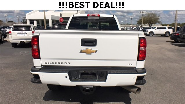 2016 Chevrolet Silverado 2500HD LTZ Automatic 4X4 Truck 4 Door Duramax 6.6L V8 Turbodiesel Engine