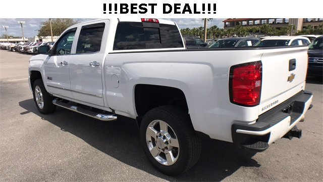 2016 Summit White Chevrolet Silverado 2500HD LTZ Automatic Duramax 6.6L V8 Turbodiesel Engine 4 Door