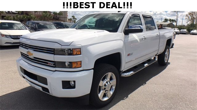 2016 Summit White Chevrolet Silverado 2500HD LTZ 4 Door Truck 4X4