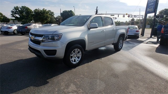 2018 Silver Ice Metallic Chevrolet Colorado 2WD LT RWD Truck Automatic