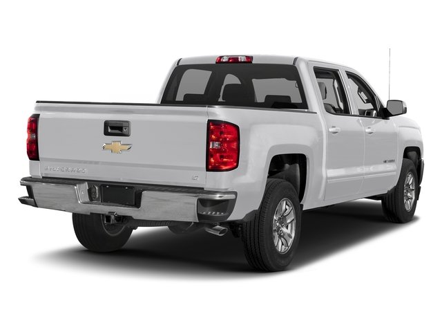 2017 Silver Ice Metallic Chevrolet Silverado 1500 LT EcoTec3 5.3L V8 Engine 4X4 4 Door Truck Automatic