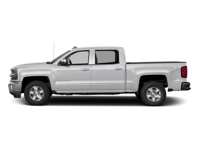 2017 Silver Ice Metallic Chevrolet Silverado 1500 LT Truck EcoTec3 5.3L V8 Engine 4 Door