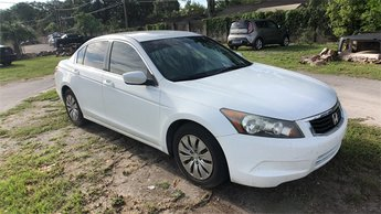 2010 Taffeta White Honda Accord LX Automatic Sedan 4 Door